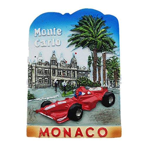 3D Monte Carlo Monaco fridge magnet,Home & kitchen decoration magnetic sticker Monaco refrigerator magnet tourist souvenir gift