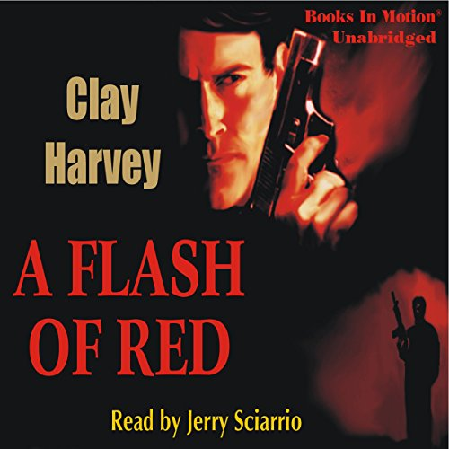 A Flash of Red audiobook cover art