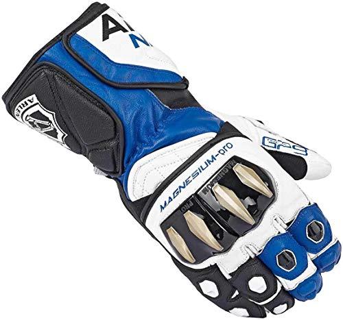 Arlen Ness Sugello Handschuhe S Schwarz/Weiß/Blau