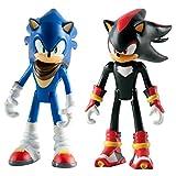 Sonic The Hedgehog - Figuras articuladas de Sonic Boom, 7,62 cm, 2 Unidades