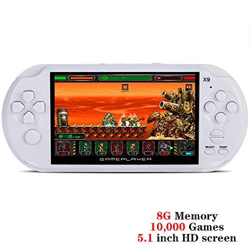 IDE Play Consola de Juegos portátil, Consola de Juegos Retro con Juegos de 5.1