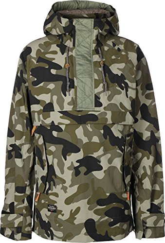 Holden Herren Snowboard Jacke Scout Side Zip Jacket