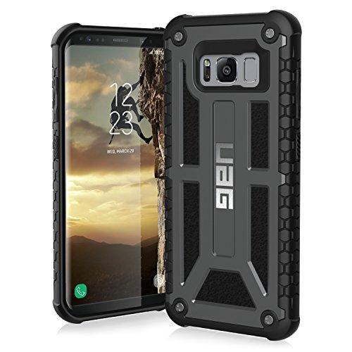 Uag Coque de Protection pour Galaxy S8 Graphite/Noir