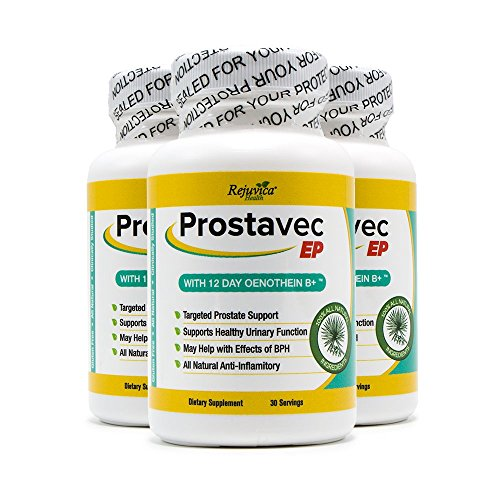 Prostavec EP Prostate Support Supplement | All-Natural Formula for Prostate Care & Frequent...