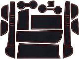 Coche Alfombrillas antideslizantes Para Lexus UX UX250h UX200 250 250h 200 2015~2019, Alfombra Goma Posavasos Accesorios Interior para Consola Central