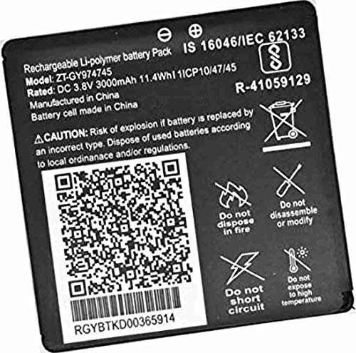 DSELL Mobile Battery for Jio WiFi Dongle JMR815, JIO JIOFI 815 Wireless Router (ZT-GY974745)
