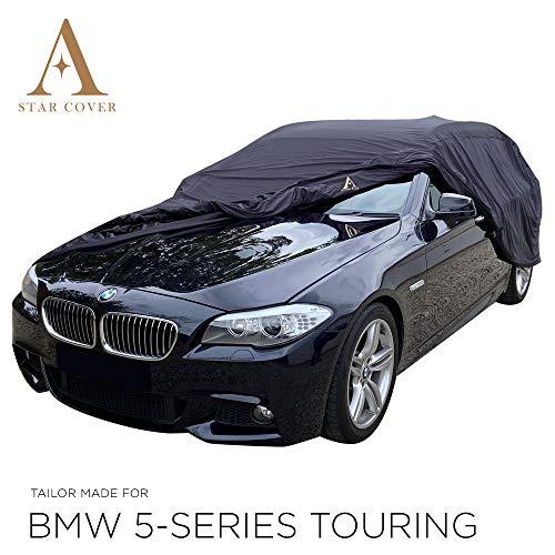 Telo COPRIAUTO da Esterno Compatibile con BMW 5-Series Touring (F11) Nero Cover vestibilità Perfetta E su Misura Consegna Rapida