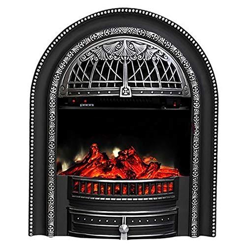 HTD Kamine Freistehend, Heizung, Elektro-Kamin Suite, Elektrokamine, Flamme Feuer Gemauert Kamin Suite Großer Big 63 * 28 * 76Cm,A