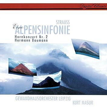 Richard Strauss: Eine Alpensinfonie; Horn Concerto No. 2