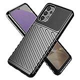TingYR Hülle für Samsung Galaxy A32 4G, Ultra Thin Silikon hülle Abdeckung Handy Hülle Stoßfest Hülle Schutzhülle, Handyhülle für Samsung Galaxy A32 4G Smartphone.(Schwarz)