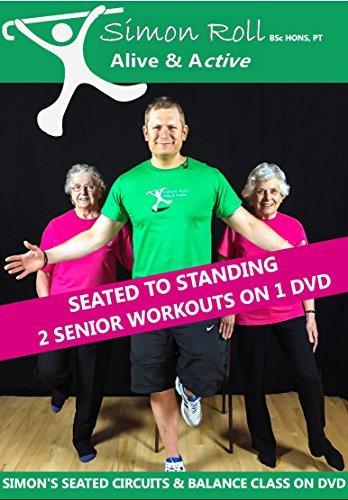 Simon Roll Alive & Active Elderly / Senior Exercise DVD 2
