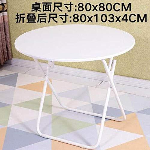 Eettafel LKU Opklapbare eettafel Eettafel Home Klein appartement Ronde tafel Royale tafel Eenvoudig, stijl 12