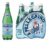 San Pellegrino Agua Mineral Natural Con Gas (paquete de 6 x 1L)