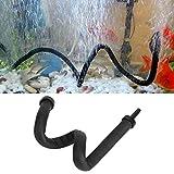 Pssopp Barra de Burbujas de Aire para Acuario, difusor de Aire de Pared de plástico Flexible, para Tanque de Peces, Piedra de Aire, Barra difusora de oxígeno de liberación de Burbujas