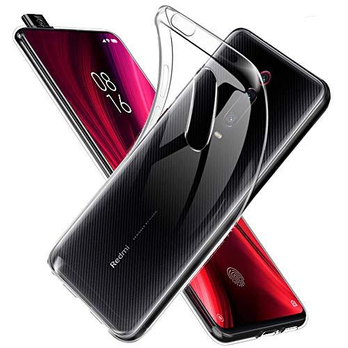 Toppix Cover per Xiaomi Mi 9T, per Xiaomi Mi 9T PRO, Custodia Case Sottile e Flessibile in Silicone TPU per Xiaomi Mi 9T / 9T PRO (Transparent)