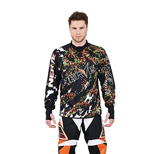 Nerve Motocross shirt Medium oranje