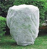 domdil-50g/m²120x180cm telo protettivo invernale per piante, cappuccio protezione vegetale, copertura utile per coltura, velo protezione perfetta dal gelo e vento
