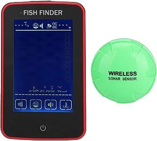 SoarUp 魚群探知機釣り検出器無線設計釣り用大画面HDディスプレイ105°の検出角度500Mの超長距離検知タッチスクリーン設計防水