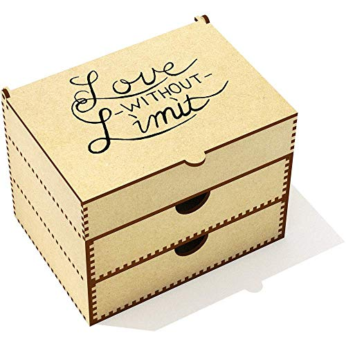 Azeeda 'Love Without Limit' Boîte de Maquillage (VC00009923)