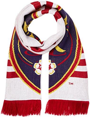 adidas MLS Real Salt Lake 1st Kick Jersey Hook Jacquard Scarf, One Size, White