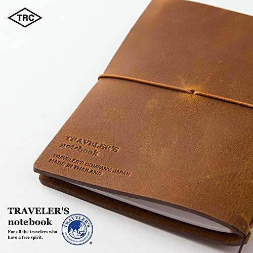 Midori Traveler's Notebook - Starter Kit, Camel (Passport Size) Photo #8