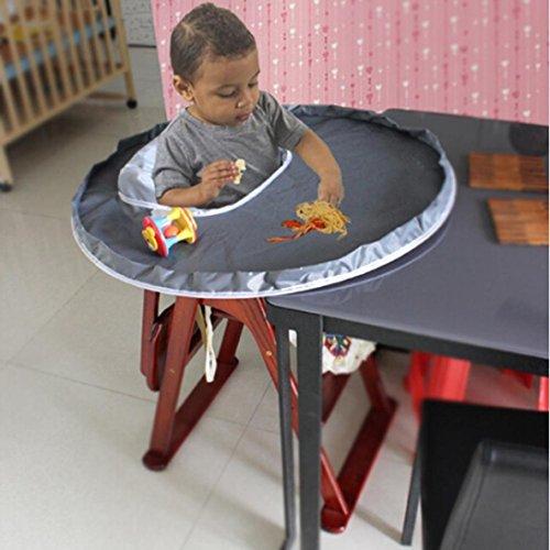 Baby Diner Feeding Plaats Mat, Indexp Waterdichte Oxford kinderstoel Bumper Voedsel Speelgoed Gooi Preventie Pad Cover