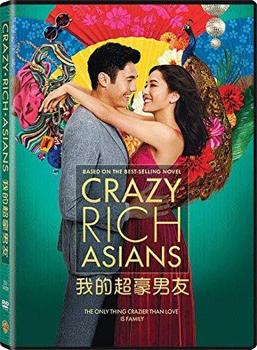 Crazy Rich Asians (Region 3 DVD / Non USA Region) (Hong Kong Version / Chinese subtitled) 我的超豪男友
