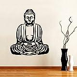 Tianpengyuanshuai Buddha Yoga Wandtattoo Vinyl Wanddekoration Schlafzimmer Home Decoration...