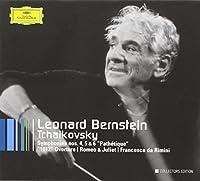 Tchaikovsky: Symphonies Nos. 4, 5 & 6; 1812 Overture; Romeo & Juliet; Francesca da Rimini ~ Bernstein by Peter Ilyich Tchaikovsky (2007-09-11)