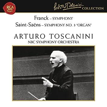 "Franck: Symphony in D Minor, FWV 48 - Saint-Saens: Symphony No. 3 in C Minor, Op. 78 ""Organ"""