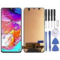 Dmtrab for ギャラクシーA70、M-A705F / DS、SM-A705FN / DS、SM-A705GM / DS、SM-A705MN / DS、SM-A7050(ブラック)用のLCDスクリーン交換液晶画面とデジタイザのフルアセンブリ 液晶画面の交換 (Color : Black)