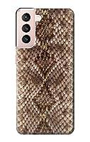 JP287521G ラトルスネークスキン グラフィックプリント Rattle Snake Skin Graphic Printed Samsung Galaxy S21 5G ケース