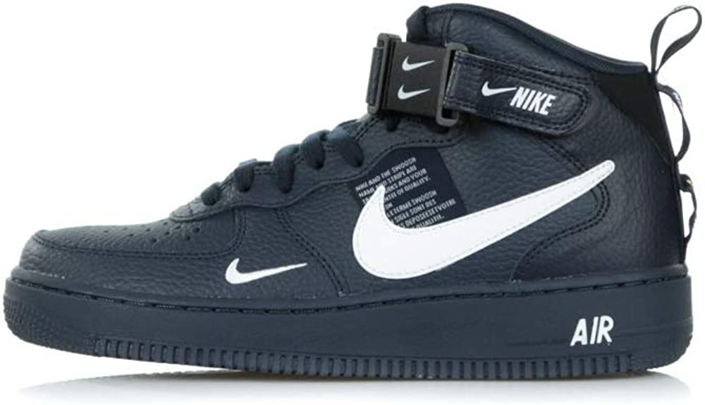 Nike Air Force 1 Mid '07 LV8, Scarpe da Ginnastica Uomo, Blu ...