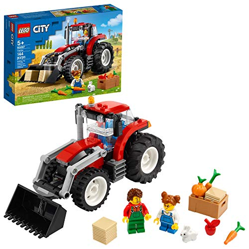 LEGO City Tractor 60287 Building Kit  Cool Toy for Kids  New 2021 (148 Pieces)