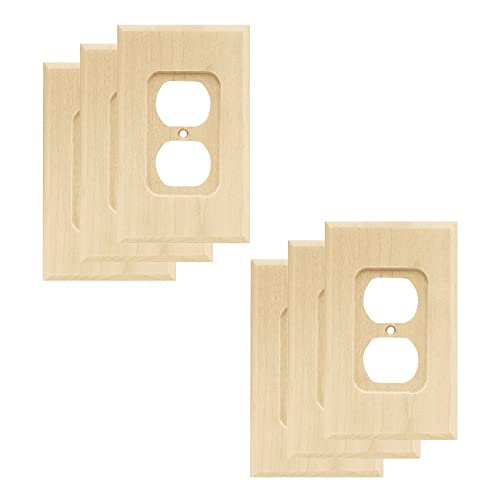 Wood Electrical Plates Amazoncom