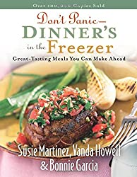 cook book - dinners in the freezer