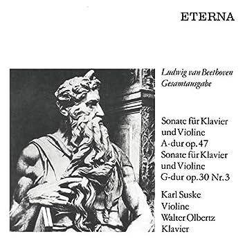Beethoven: Sonatas for Piano and Violin (Op. 47 & 30 No. 3) (Remastered)
