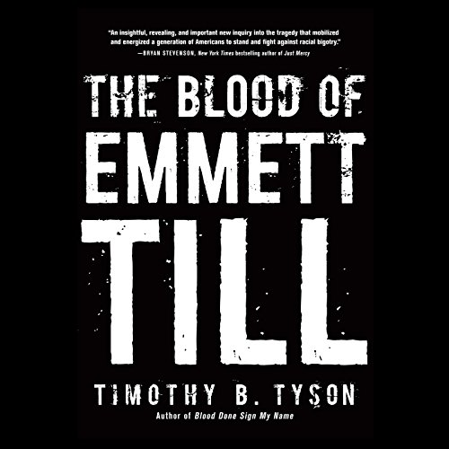 The Blood of Emmett Till audiobook cover art