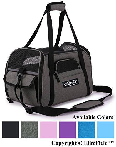 EliteField Soft-Sided Pet Carrier (3 Year Warranty, Airline Approved)