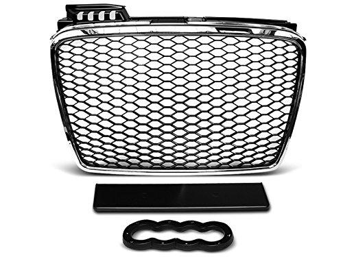 Shop Import Griglia di griglia–A4B704–08Look RS Cromo Nero (U22)