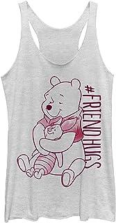 Disney womens Piglet Pooh Hugs T-Shirt