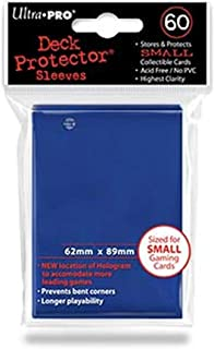 Ultra Pro Card Supplies YUGIOH Deck Protector Sleeves Blue 60 Count
