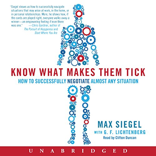 Know What Makes Them Tick audiobook cover art