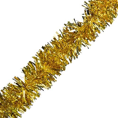 Gold Metallic Twist Garland - 4' x 25' roll
