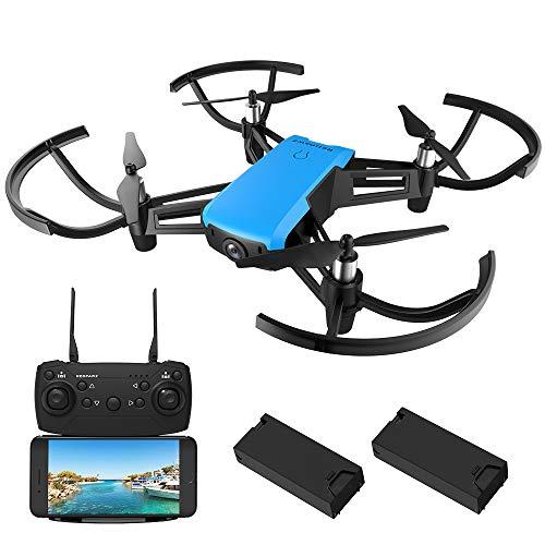 REDPAWZ R011 Drones con Cámara HD Profesional 1080P 720P WiFi FPV Selfie Sensor Gravedad Transmisor de Altitud Modo de Retención Mantenimiento de Altitud/Modo sin Cabeza/con Lente Gran Angular-RTF