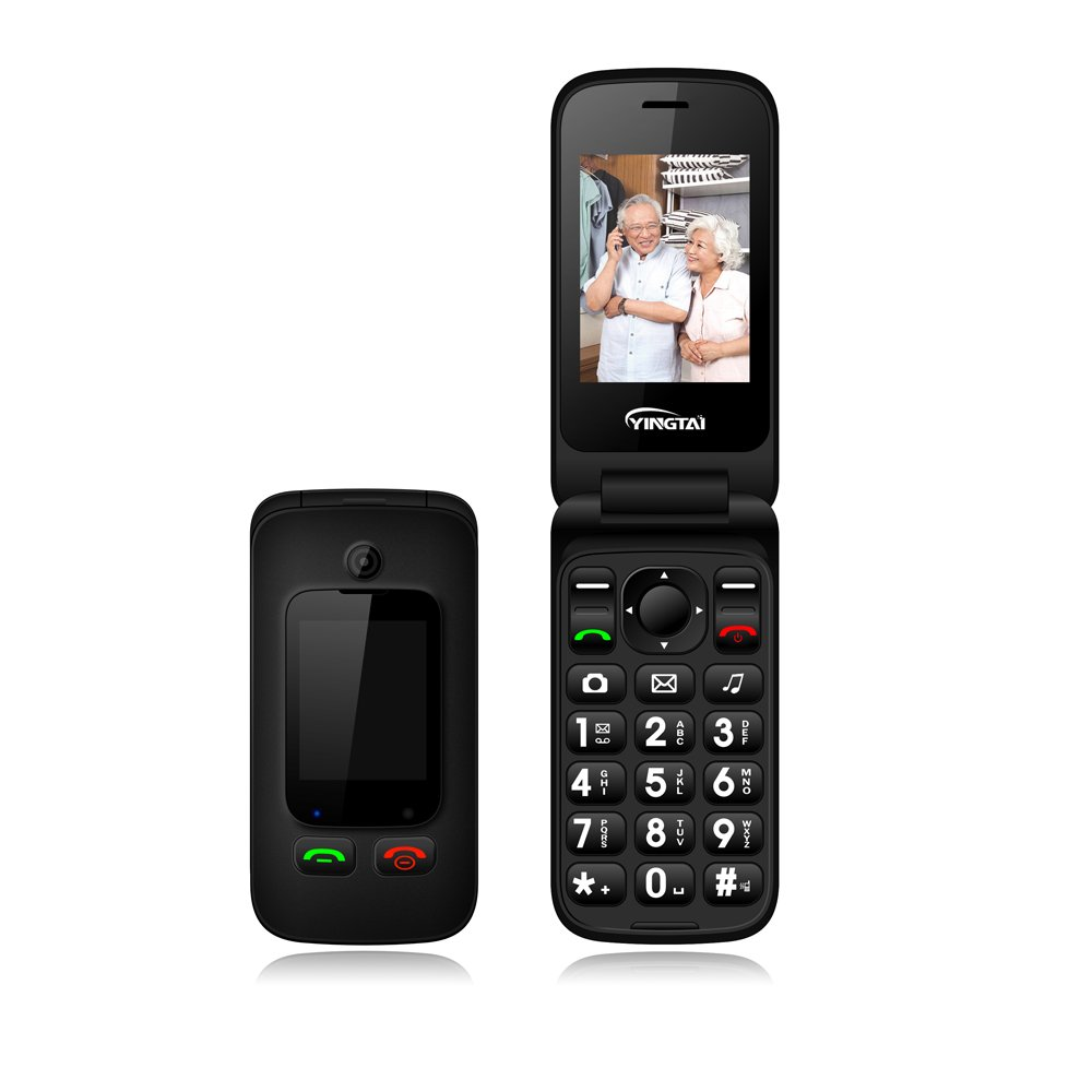 YINGTAI T22 3G Doble Patalla Mayores Móvil Grande Sonido y Botón: Amazon.es: Electrónica