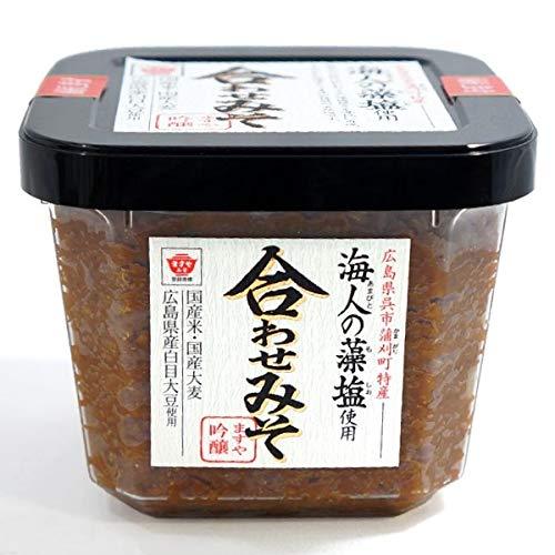 国産 海人の藻塩使用 合わせみそ 450gカップ入り味噌