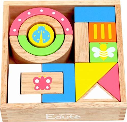 木のおもちゃ 積み木 木製 音が出る積み木 サウンド SOUNDブロックス 15ピース 積み木セット はじめての積み木 出産祝い 誕生日 プレゼント 赤ちゃん 安全 知育玩具 10か月 木製