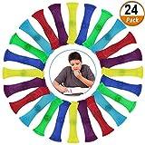 Kulannder 24 Stücke Zappeln Spielzeug Fidget Toys für Stressabbau spielzeu für Kinder und...