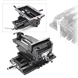 Mallofusa 5' Cross Slide Drill Press Vise X-Y Clamp Machine Metal Milling 2 Way HD
